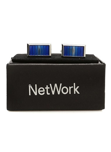 NetWork Kol Düğmesi Lacivert